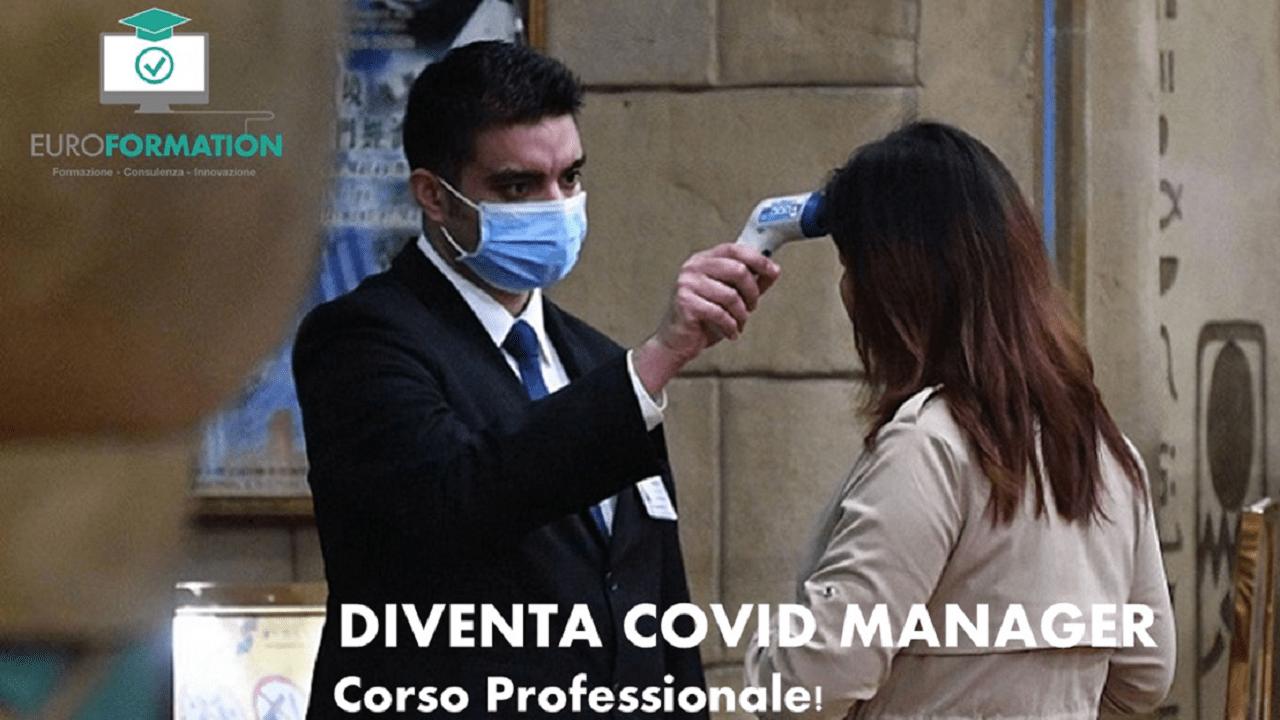 Corso di Formazione Diventa Covid Manager - EuroFormation Scuola di Formazione Digitale e Corsi Online