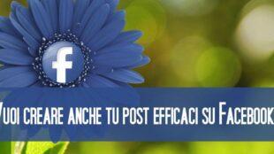 Corso di Formazione Scrivere Post su Facebook - EuroFormation Scuola di Formazione Digitale e Corsi Online